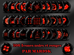 icones black and red by mariok13