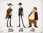 The Good The Bad and The Ugly by chillyfranco