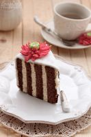 Cake with vertical layers by kupenska