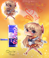 SAILOR VENUS FLELE by sdmarquez