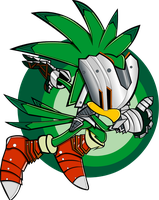 Sir Lamorak Sonic Channel by extremesonic101
