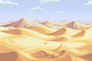 Comission - desert background by Cecihoney