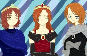 The Three Princesses by VeinalAnovyn