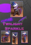 Future Twilight Sparkle Custom Blind Bag by DreadArkive