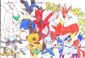 Pokeumans Forever by Tora-Luv10