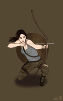 Lara Croft by Pivz
