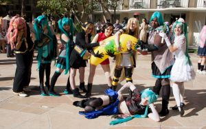 ALA Vocaloid Gathering 2014 Group Shot 5 by EriTesPhoto