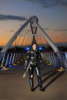 Completed Mass Effect 3 N7 Armor (Femshep) by NaughtyZoot