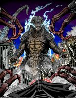 GODZILLA 2014' COLOR by kaijuverse