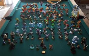 My skylander collection by QuickTron
