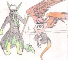 Orelion and Icarus by GaberielRichardson