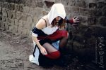 Assassin's Creed Cosplay - own design(re-edited) by SarahBCosplay