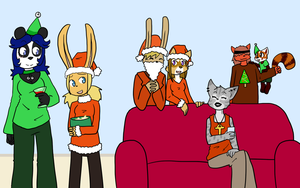 Christmas gathering '13 by Sixala