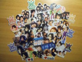 Arashi Stikers by vampiretta87