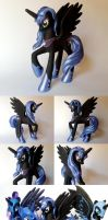 Princess Luna G4 Custom Pony by Oak23