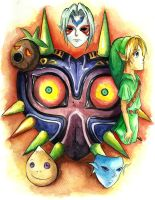 Majora's Mask by Twentyfivegirl