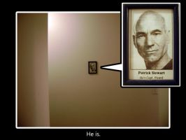 He's Capt Picard by eecomics