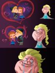 Elsa - Forever alone.... by zPePhungz