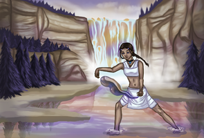 Waterbending by CarlaGriffin