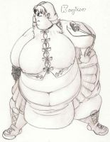 Obese Regina by GAIN-OVER