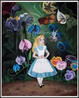 Alice with the Flowers by Terrauh