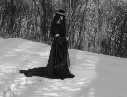 Mourning gown 3 by ThreeRingCinema
