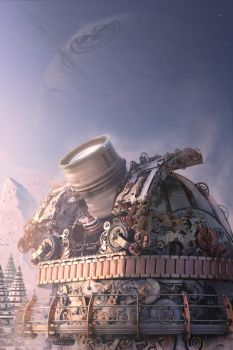 Swiss observatory by Farins