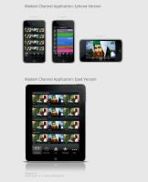 Iphone Tv and Streaming App DI by SheikhNaveed