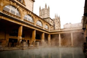 The Roman Baths 3 by BiodiVersitY