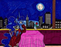 Luna and the Night(Sold at the Con) by newyorkx3