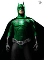 Green Lantern Batman by MrHardstone
