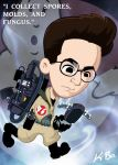 Ghostbusters Egon Spengler by kevinbolk