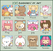 Art Summary 2010 by SqueakyToybox