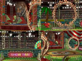 DOA5 Stage The Tiger Show by rolance