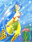 A Fairy of the Sea by J8d