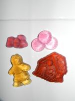 Candy and Gingerbread Scene Soaps by beadsofcompassion