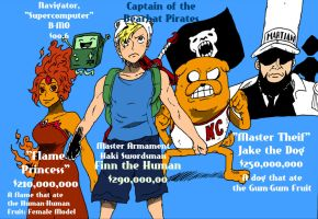 OP/AT Crossover Series: The Bearhat Pirates by 5ifty
