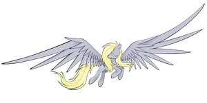 Derpy Hooves (Vector) by flamevulture17