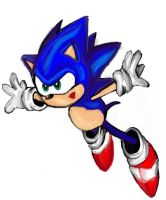 sonic the hedgehog by supercrazzy