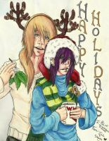 WHITL Belated Holiday Card by Sketchymaloo