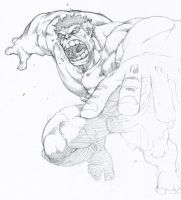 jumping hulk by tincan21