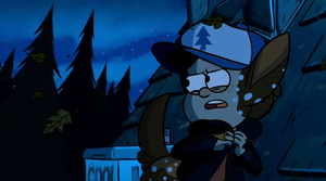 Monster Falls Dipper by Bast13