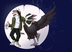 Commission : Garr and Raf by Bombird