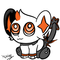 Chibi Sparky (practise) by Axial97