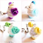 Sweet Cupcake Keychains by Cateaclysmic