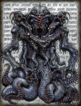 Nyarlathotep by JeffRussell
