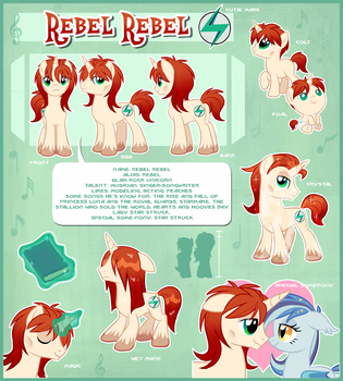 Rebel Rebel Official Reference Guide by Centchi
