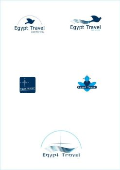 Egypt Travel Logo by ant1art