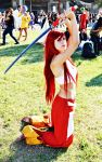 Erza Scarlet - Fairy tail cosplay by Emy182