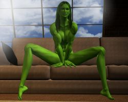 She hulk - Exclusive 67 by MorganCygnus